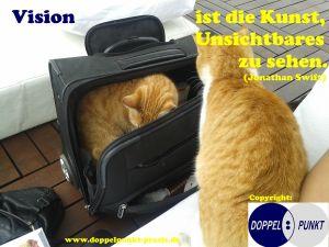 Vision ist die Kunst, Unsichtbares zu sehen. (Jonathan Swift) - www.doppelpunkt-praxis.de